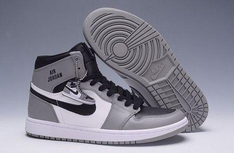 air jordan 1 gris et blanc