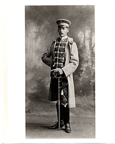 Amazing  Walter Gropius as a cadet in the Fifteenth Hussar Regiment Wandabeck Walter Groupius Pinterest