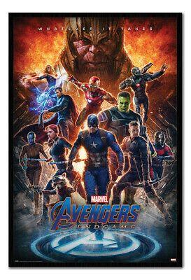 Framed Avengers Endgame Whatever It Takes Poster Official Licensed 26x38 Marvel Avengers Avengers Movies Avengers