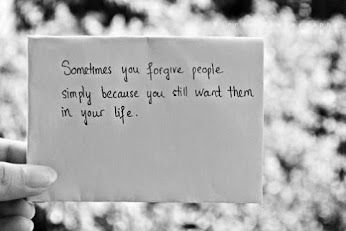 Forgive but never forget what it taught you -