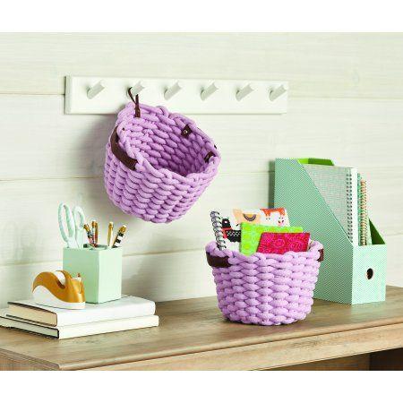 e6415e0b13cb85eda560a2f1242fad1c - Better Homes And Gardens Chunky Rope Basket