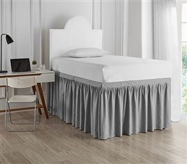 Spoon Me Coma Inducer 3 Memory Foam Twin Xl Bedding Topper Nighttime Gray Dorm Room Ideas In 2019 Dorm Bed Skirts Twin Xl Bedding Panel Bed
