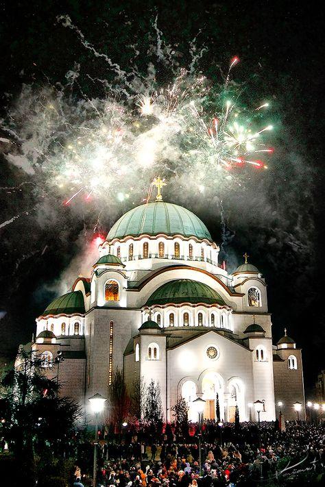 Happy Old New Year In 2021 Belgrade Serbia Serbia Catholic Shrines