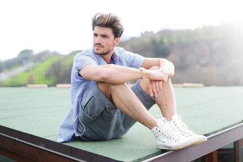 Outfit de verano para hombres. Summer look for men. Pour homme. https://www.facebook.com/bagatelleoficial Bagatelle Marta Esparza  #outfit #summer #verano #man