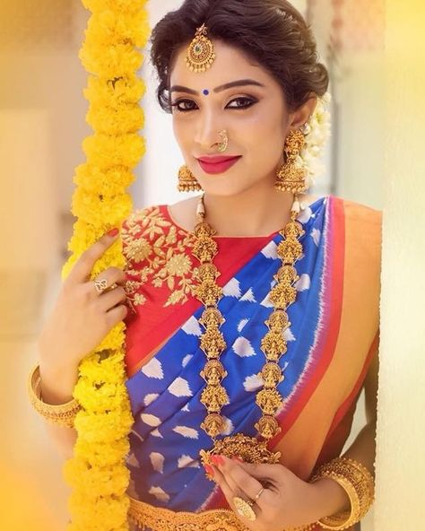 f254a07a53 Check Out 12 Gorgeous Saree Colors You Can Wear For Weddings   Saree ...