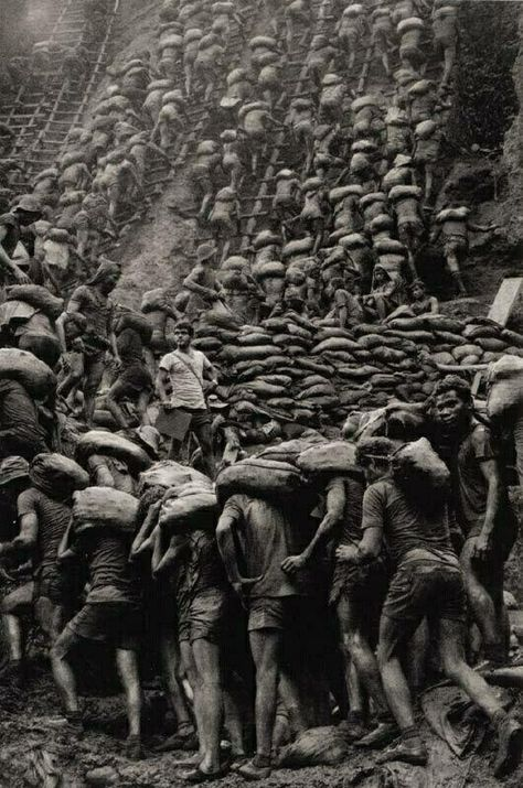 by Sebastiao Salgado The gold mine of Serra Pelada Brazil.