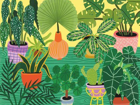 Botanic Garden by Folio Illustration Agency