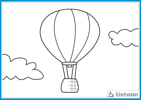 Balon Udara Mewarnai Pictures To Pin On Pinterest Pinsdaddy Balon Udara Balon Warna