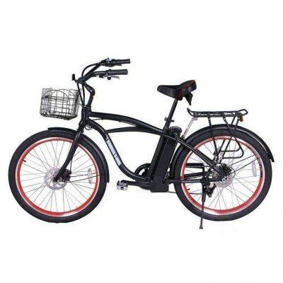 X Treme 300w Newport Electric Cruiser Beach Cruiser Bicycle Beach Cruiser Electric Bike Beach Cruiser
