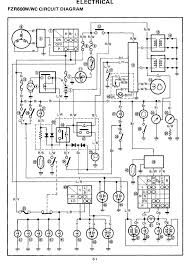 Yamaha Fzr 600 Wiring Diagram | Wiring Schematic Diagram on