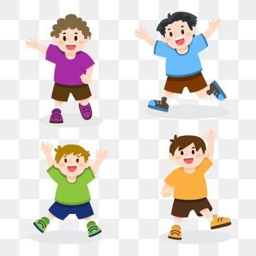 행복한 아이들이 그림을 점프 점프 클립 아트 아이들 행복 Png 및 벡터 에 대한 무료 다운로드 Dibujos Para Ninos Ninos Dibujos Animados Ninos Saltando