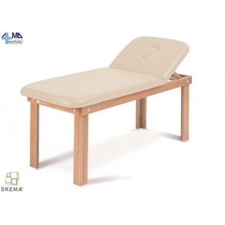 Lettino Da Massaggio In Legno.Moretti Lettino In Legno Per Trattamenti Massaggi E Visita Con