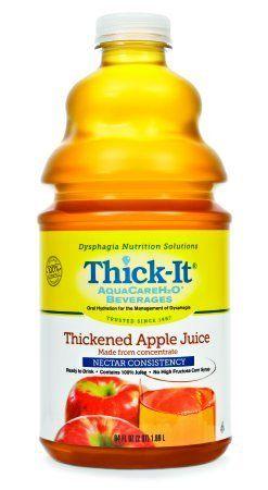 Thick It Aqua Care H20 Honey Apple Juice 64 Fluid Ounce 4 Per Case Want Additional Info Click On The Image Th Juice Cranberry Juice Cocktail Apple Juice