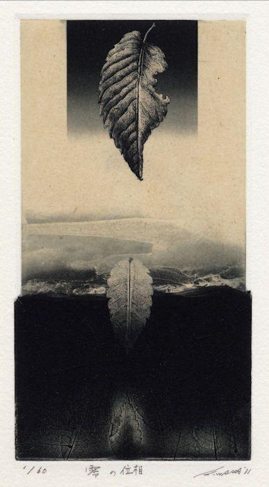 "wakatsuki kohei - ""phase of zero), etching, 2011 Intaglio Printmaking, Etching Prints, Art Japonais, Arte Horror, Japanese Prints, Collage Art, Cool Art, Illustration Art, Images"