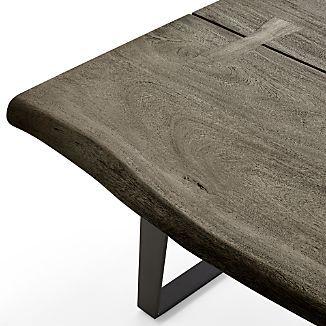 Yukon Grey Coffee Table Organic Coffee Table Crate And Barrel Coffee Table