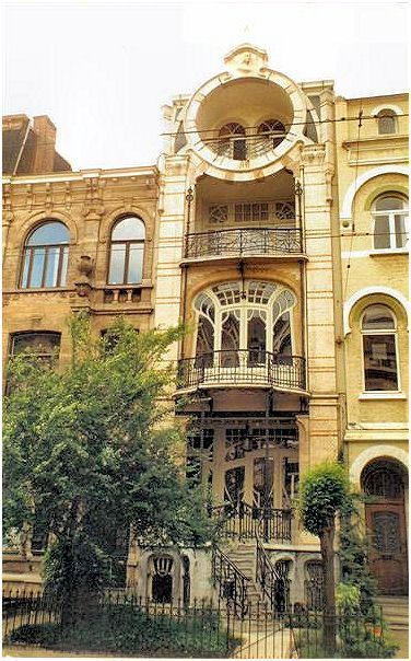 Art nouveau antwerp wonderful doors and windows built to copy a house on maison