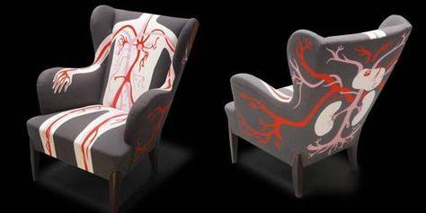 Design Stoel Fauteuil.5 Griezelige Design Stoelen Fauteuil Stoelen En Meubel Ideeen