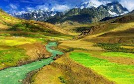 Green Mountain Valley Nature Desktop Wallpaper Wallpaper Free Download Nature Hd