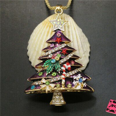 Hot Purple Enamel Crystal 3D Christmas Tree Star Betsey Johnson Pendant Necklace#christmas #xmas #christmastree #christmasdecor #handmade #love #merrychristmas #santa #winter #christmastime #gift #christmasgifts #holidays #holiday #gifts #christmasiscoming #navidad #christmasdecorations #santaclaus #snow #etsy #christmasgift #like #natale #noel #art #instagood #christmaslights #family #halloween #december #photography #homedecor #christmasspirit #natal #fashion #christmasparty #festive #follow #