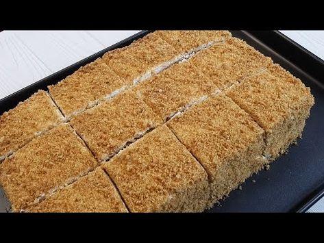 Tək Tək Yuxa Acmadan 30 Dəqiqədə Hazir Pambiq Kimi Karamelli Balli Tort Resepti Youtube