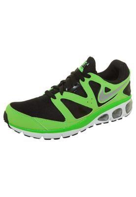 T�nis Nike Air Max Turbulence 18 Preto/Verde \u2013 Nike -  http://batecabeca.com.br/tenis-nike-air-max-turbulence-18-pretoverde-nike.html  | T�nis | Pinterest ...