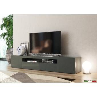 Milano Tv Stand For Tvs Up To 70 In 2020 Tv Stand Low Profile Tv Stand European Furniture
