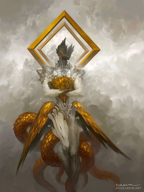 Gabriel, Archangel of Strength, Peter Mohrbacher Peter Mohrbacher, Character Art, Character Design, Archangel Gabriel, Archangel Raphael, Angel Warrior, Angel Aesthetic, Arte Horror, Horror Art
