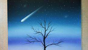 Como Dibujar Un Paisaje De Noche Facil Para Ninos Paso A Paso Tutorial Paisajes De Noche Paisajes Dibujos Pinturas De Paisajes Faciles