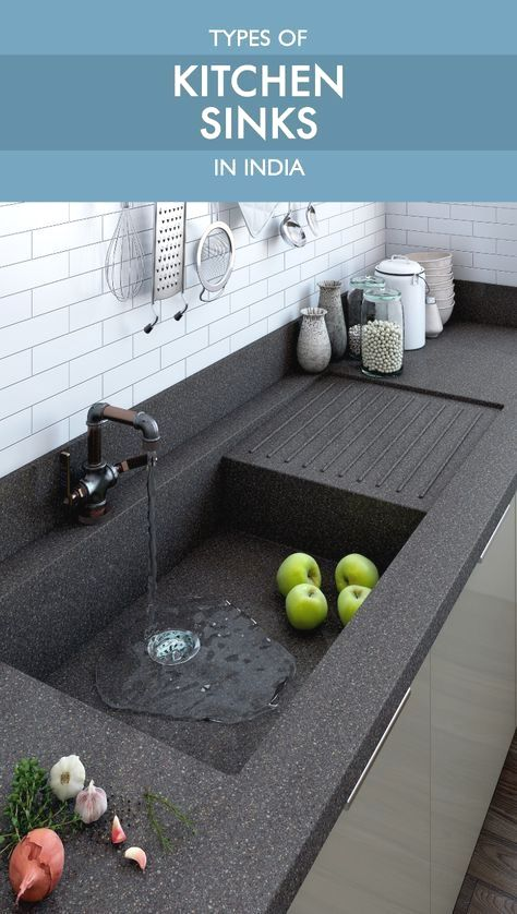 Make An Informed Decision Before You Purchase A Kitchen Sink This Is As Important As Pick Kitchen Cabinet Remodel Kitchen Room Design Kitchen Furniture Design