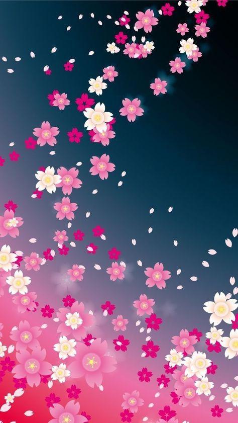 Pink flowers. - #flowers #Fondo de pantalla para teléfono móvil #Fondos de pantalla bonitos #Fondos de pantalla perrones #Fondos de pantalla tublr #Fondosnde pantalla #Pink