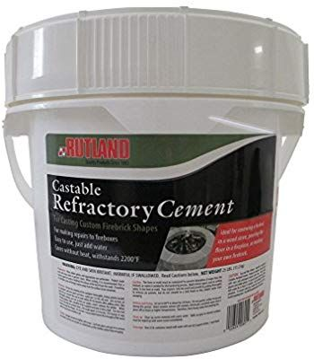 Amazon Com Rutland Products 25 Lbs Castable Refractory Cement Taupe Arts Crafts Sewing Sand Casting Cement Concrete Sealant