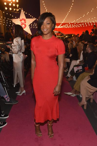 Tiffany Haddish attends the Brandon Maxwell - Front Row during New York Fashion Week.