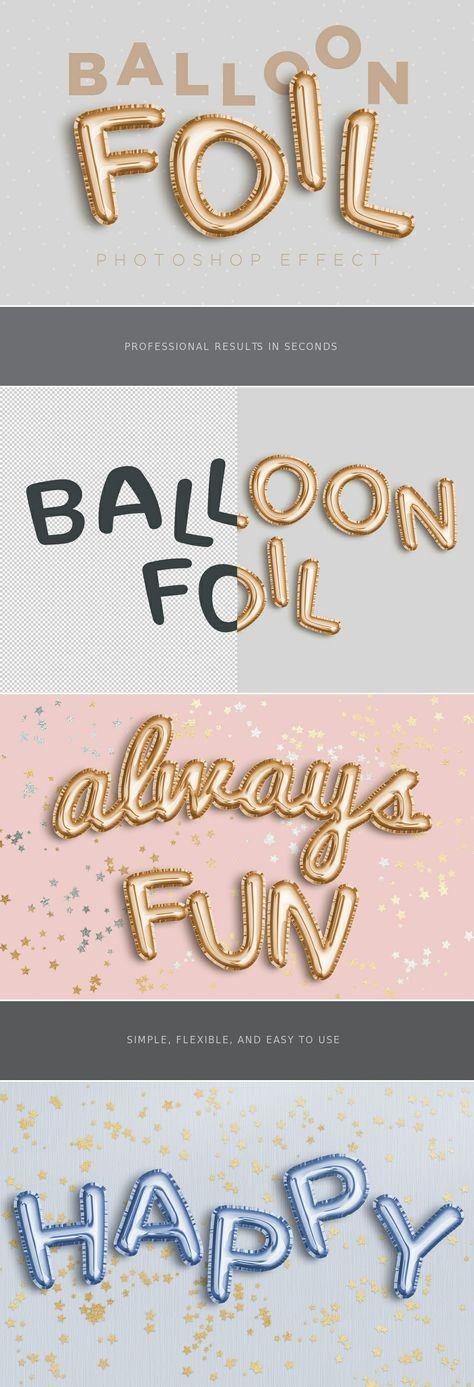 Balloon Foil Effect
