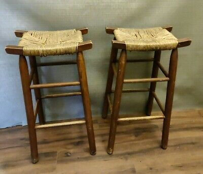 Ad Ebay Url Pair 28 Mission Arts Crafts Oak Shaker Style Rush
