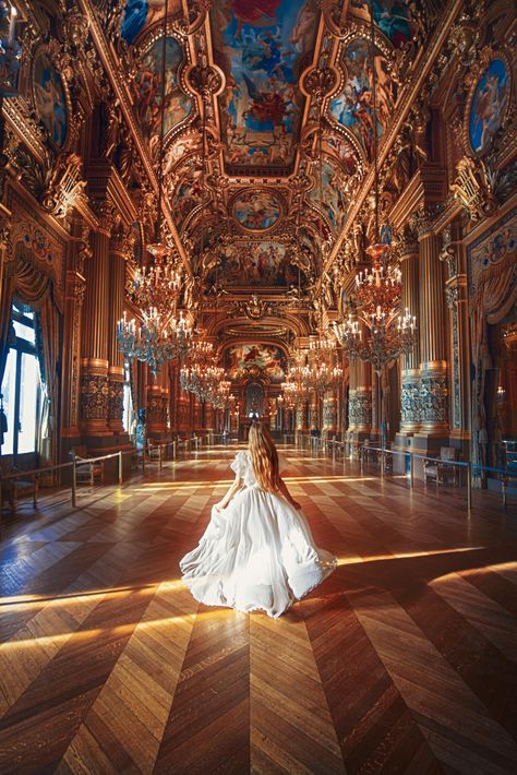 Baroque Architecture, Beautiful Architecture, Maxon Schreave, Paris Opera House, Princess Aesthetic, Dream Life, Aesthetic Pictures, Great Photos, Aesthetic Wallpapers