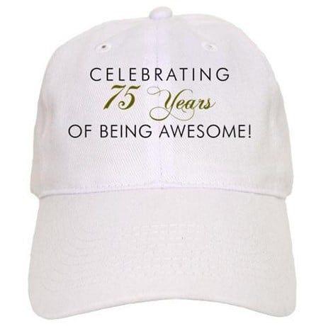 281e1b058 75th birthday hat | Harry 75 in 2019 | 75th birthday, Gifts ...