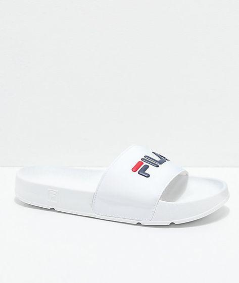 a9f68878a009 List of Pinterest fila sandals white images   fila sandals white ...