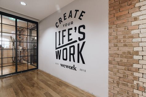 WeWork is a collaborative workspace platform for creative entrepreneurs and startups that rents them beautiful office spaces allowing them to focus on
