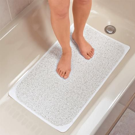 Anti-Mould Shower Mat Bathroom Home Prevents Slipping Available In 3 Colours