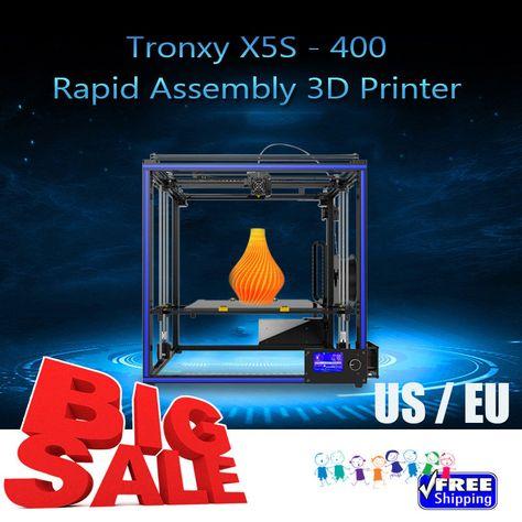 TRONXY X5S-400 Al 3D Printer DIY High Speed Precision Silent