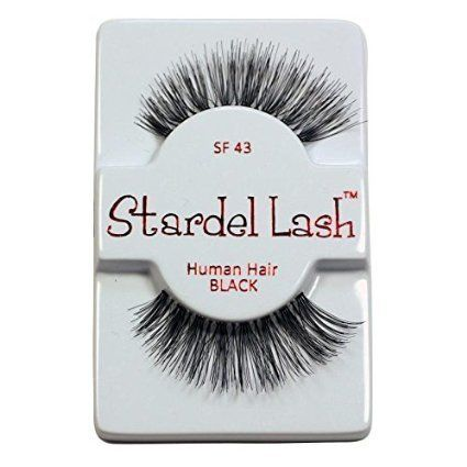 e1a158d9ca0 6 Pairs Stardel #43 100% Human Hair False Eyelashes Like Ardell Red Cherry  Lashes. 6 Pairs Stardel #43 100% Human Hair False Eyelashes.