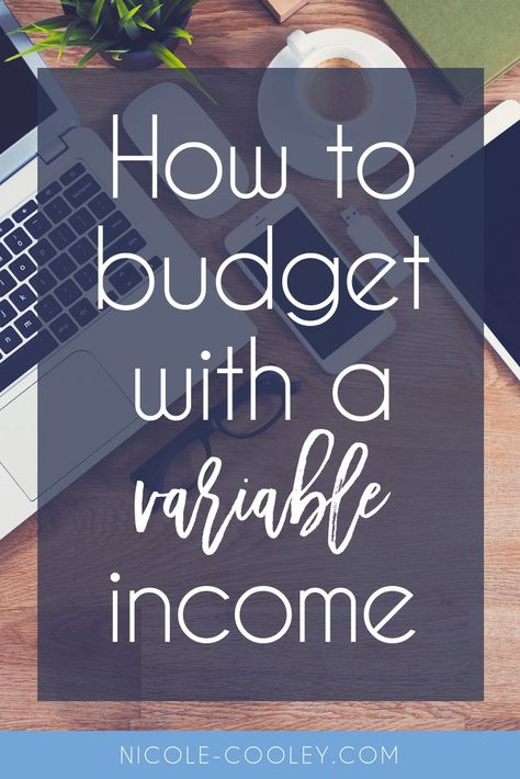 How to budget with a variable income. Budgeting and personal finance tips for entrepreneurs and small business owners. Having the ability to scale your expenses, project your income and save money for the dips will take away a lot of stress around your pe