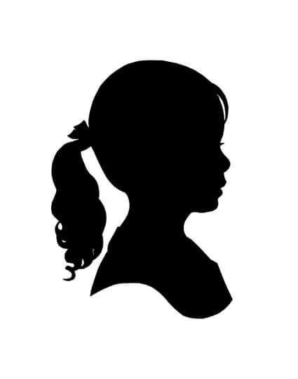 Devushka Profil Trafaret 4 Tys Izobrazhenij Najdeno V Yandeks Kartinkah Silhouette Artist Girl Silhouette Silhouette Art