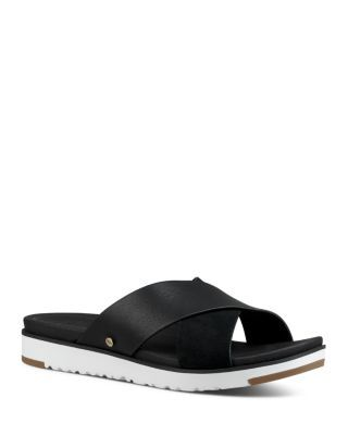 30cc57a35d7 Women's Kari Leather Slide Sandals in 2019   April 2019 Style ...