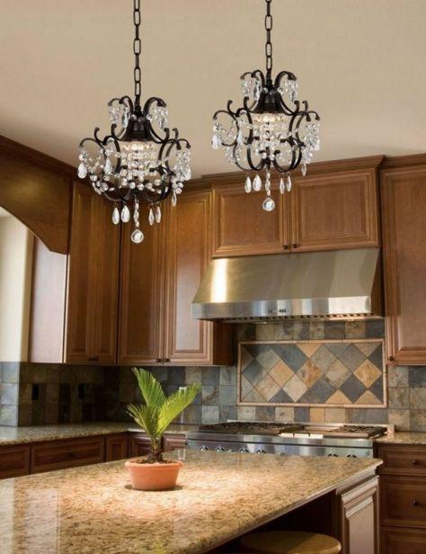 Inspirational Wrought Iron Kitchen Island Lighting