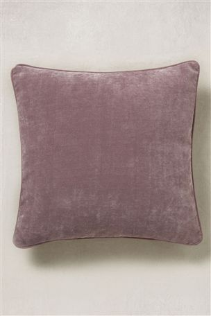 Soft Velour Square Cushion Cushions