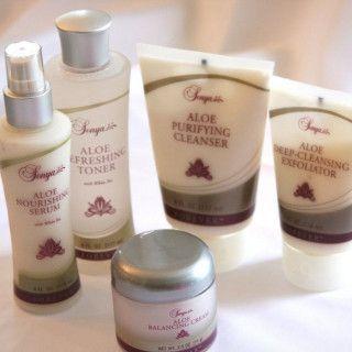 مجموعة سونيا للعناية بالبشرة Sonya Skin Care Collection ٥ منتجات ٢٨٢ Purifying Cleanser Cleanser Toner