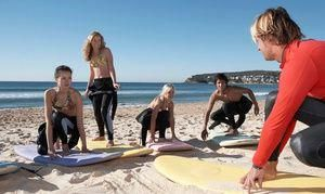 Groupon Surfing Or Standup Paddleboarding Lesson At Clint Carroll Surf School Up To 72 Off Five Options Available In Hunti Surf Camp Surf School Surfing