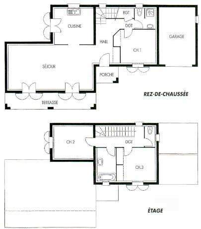 Plan De Maison Avec Autocad Plan De Maison Gratuit Dessiner Plan Maison Plan De Maison Americaine