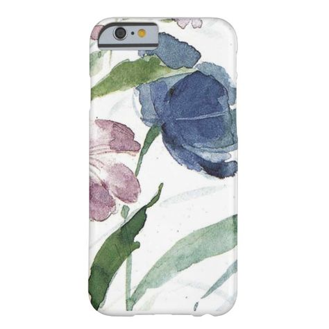 watercolor floral barely there iPhone 6 case #bloom #blossom #branch #decorative #floral #affiliatelink #ad #iphonecase #iphone #floralcases #floweriphone #iphoneaccessories